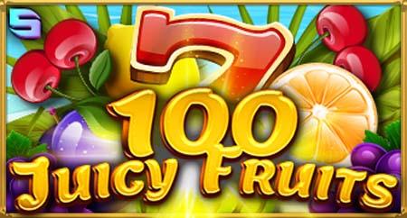 100 Juicy Fruits machine