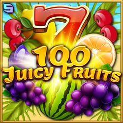 100 Juicy Fruits machine